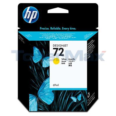 HP NO 72 INK YELLOW 69ML